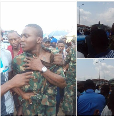 Fake Army Officer Nabbed By Security Operatives In Port-Harcourt