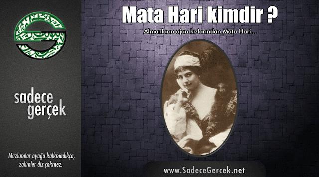 Mata Hari kimdir?