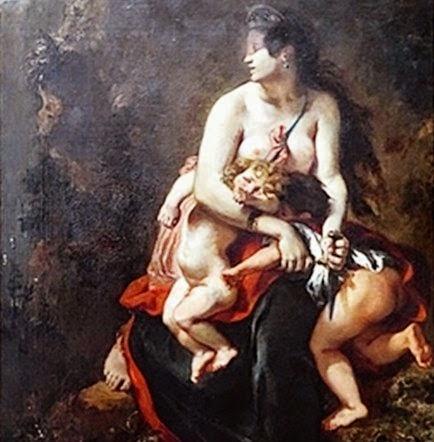 E. Delacroix Medea
