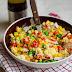 Salatka z kuskusem i wiosennymi warzywami