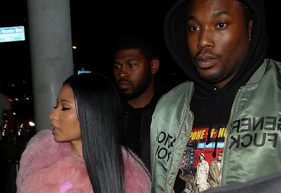 Meek Mill And Boo Nicki Minaj Party Together Last Weekend Shares Loved Up Photos