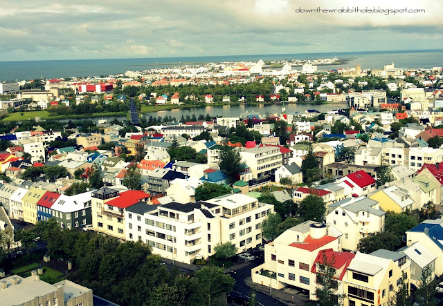 photography, churches of Iceland, Reykjavik city view
