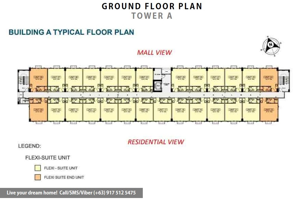 SMDC Hope Residences - Flexi Studio Suite End | Condominium for Sale Trece Martires Cavite