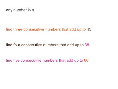 consecutives