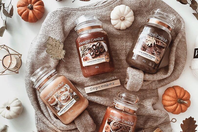 limitowane zapachy yankee candle farmer's market na jesień