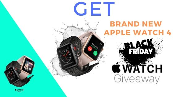 Get The Brand New Apple Watch Series 3 Black Friday 2018.