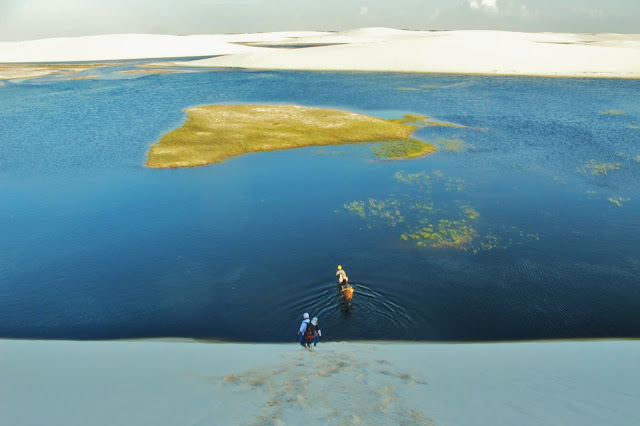 Trekking e cavalgada pelos Lençóis Maranhenses