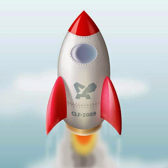 Create An Awesome Space Rocket Avatar in Illustrator