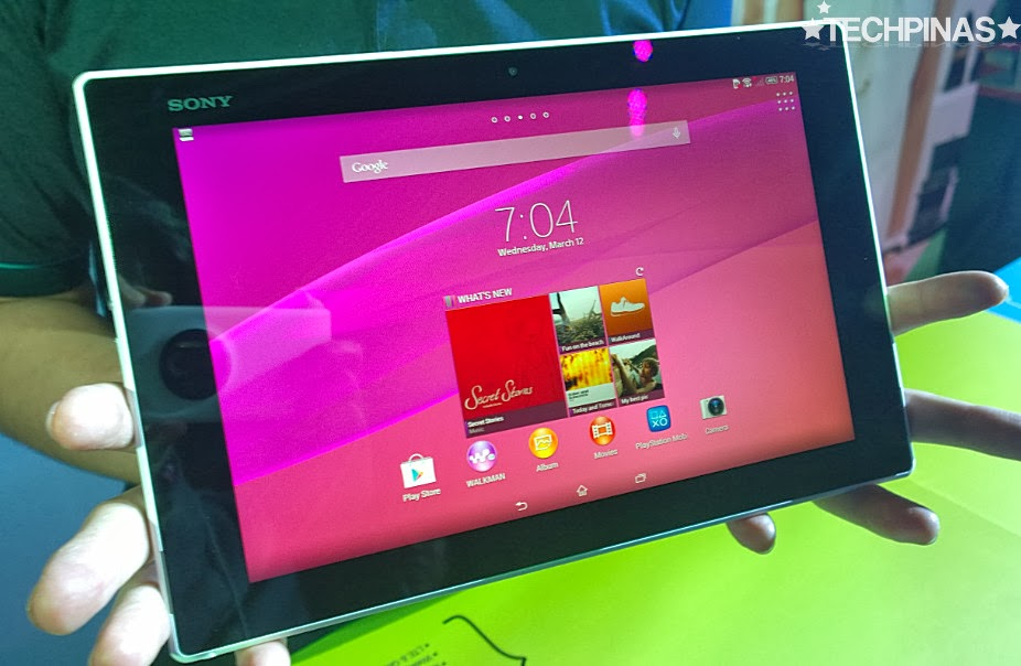 Sony Xperia Z2 Tablet Philippines, Sony Xperia Z2 Tablet, 2014 Sony Xperia Tablet, Sony Xperia Philippines