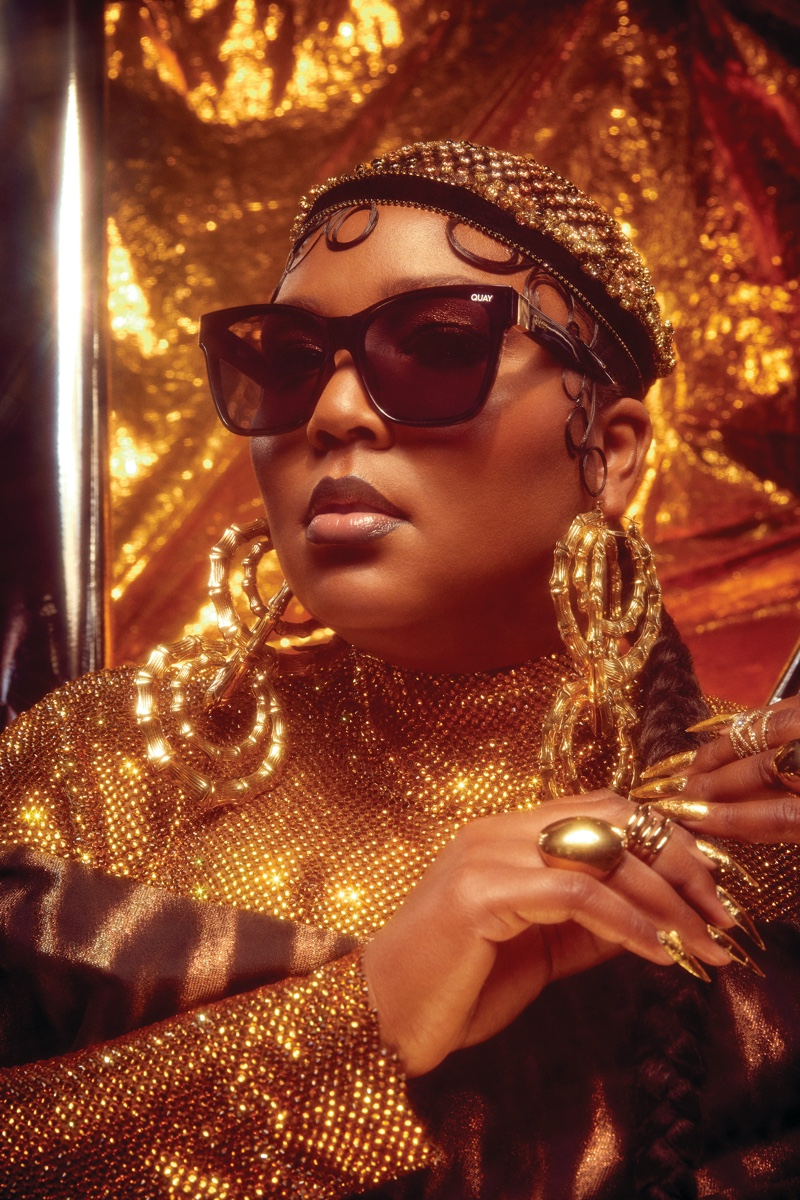 Lizzo stars in second Quay Australia collaboration campaign.