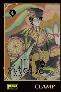 """Reseña de """"XXX HOLiC Rei #4"""" de CLAMP - Norma editorial"""