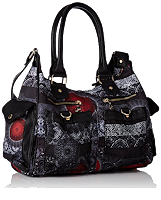Desigual Bols_london Medium Barbados, Sacs Bandoulière Femme