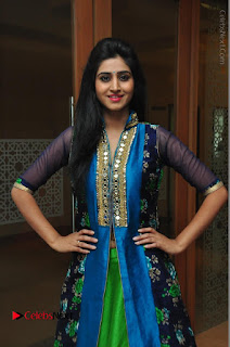Actress Model Shamili Sounderajan Pos in Desginer Long Dress at Khwaaish Designer Exhibition Curtain Raiser  0047.JPG