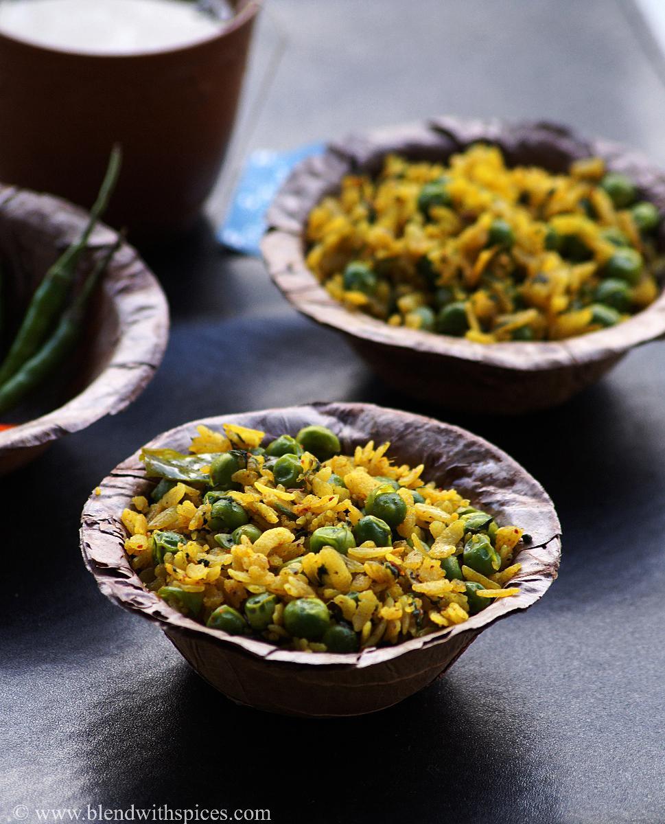 north indian breakfast recipes, poha recipes, healthy breakfast recipes, blendwithspices.com