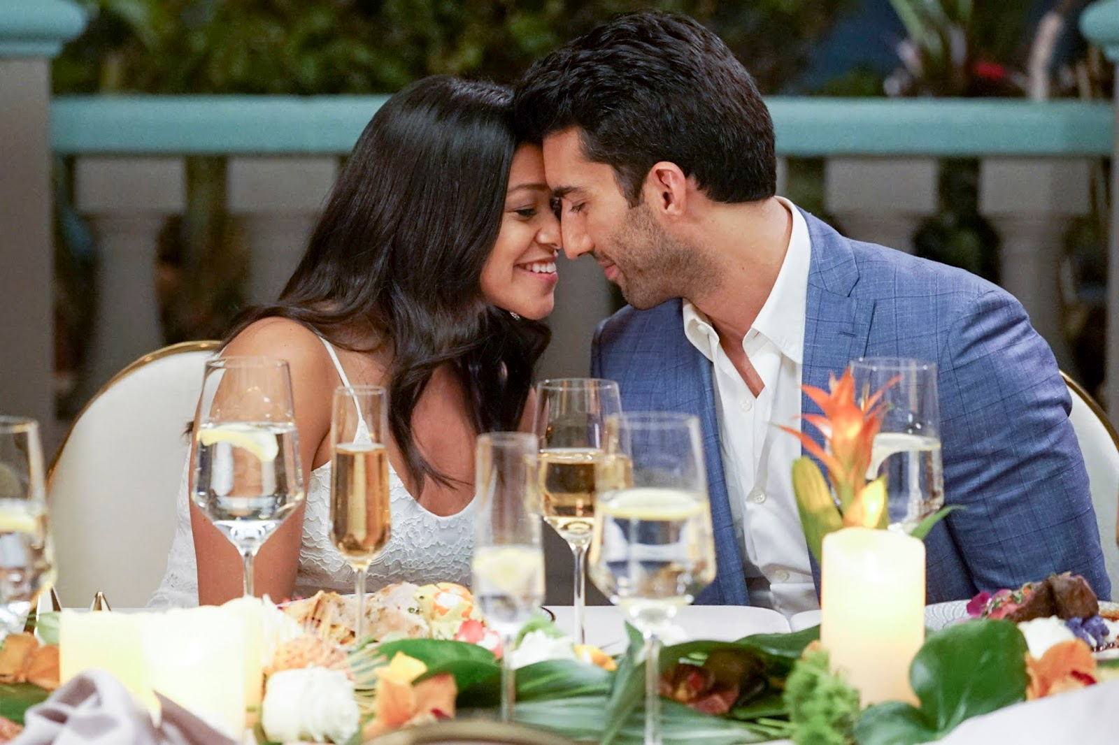 Jane y Rafael en 'Jane the Virgin'