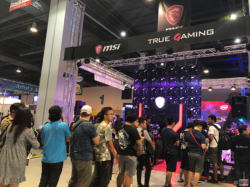 Experience ultimate gaming in nine MSI laptops-sponsored booths at ESGS 2018