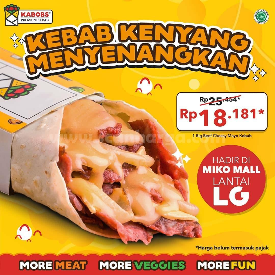 KABOBS Mikko Mall Bandung Opening Promo Harga Spesial Paket Pilihan