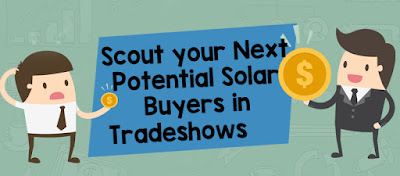 Scout your Next Potential Solar Buyer in Trade shows
