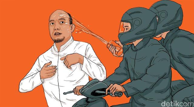 Ketum PP Muhammadiyah : Ganjil, Polisi Tangkap Teroris Bisa, Tangkap Penyiram Air Keras Novel Kok Sulit ?