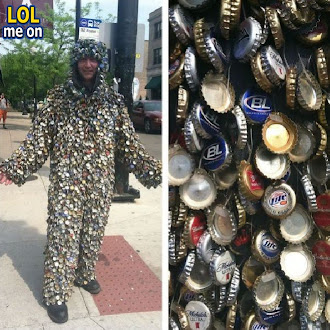 Bottle Cap Man