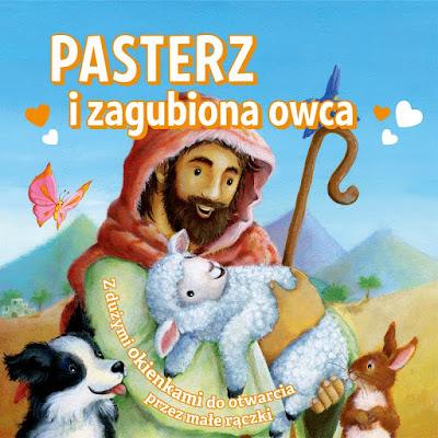 Pasterz i zagubiona owca — kolorowa książka dla dzieci