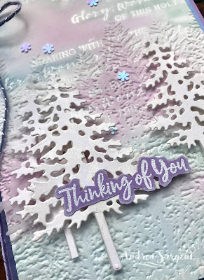 Highland Heather In the Pines Stampin Up card, Andrea Sargent, Valley Inspirations, Independent Stampin' Up Demonstrator, Adelaide Foothills, Australia