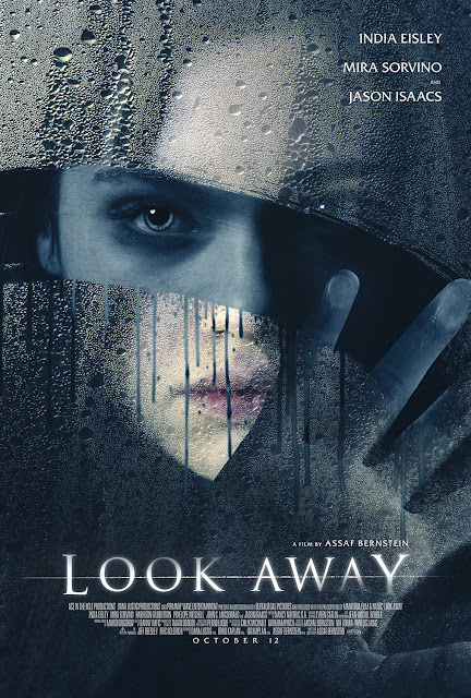 Look Away, Movie, English Movie, Film, Look Away Movie, Look Away Film, Movie Review, Sinopsis English Movie Look Away, Poster Filem Look Away Lakonan India Eisley, Ending Movie Look Away, Pelakon Filem Look Away, India Eisley, Mira Sorvino, Jason Isaacs, Penelope Mitchell, Harrison Gilbertson, John C. MacDonald,