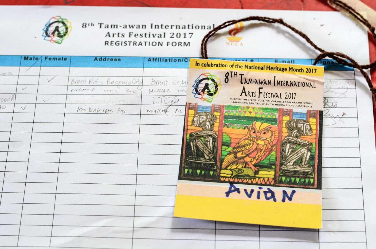 International Arts Festival 8th Tam-awan Baguio City Philippines Registration