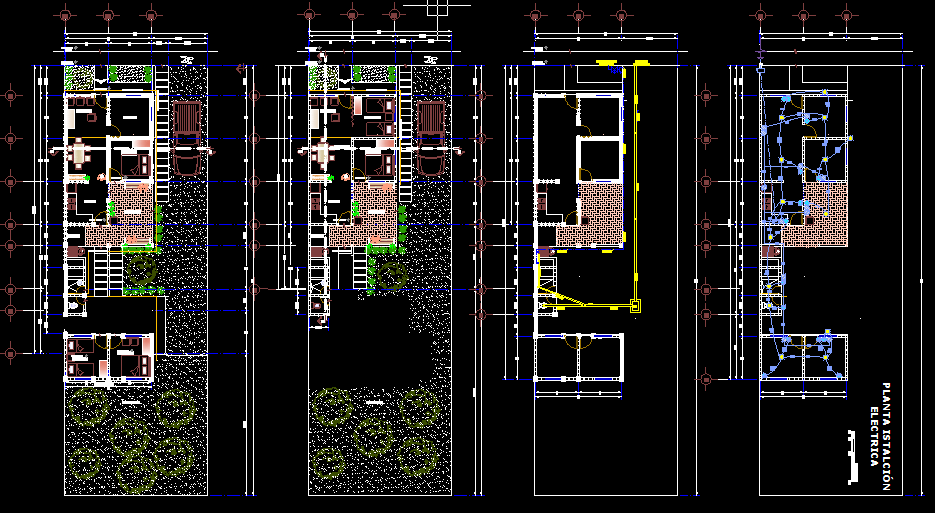 Design a one story house with 2 Bedrooms