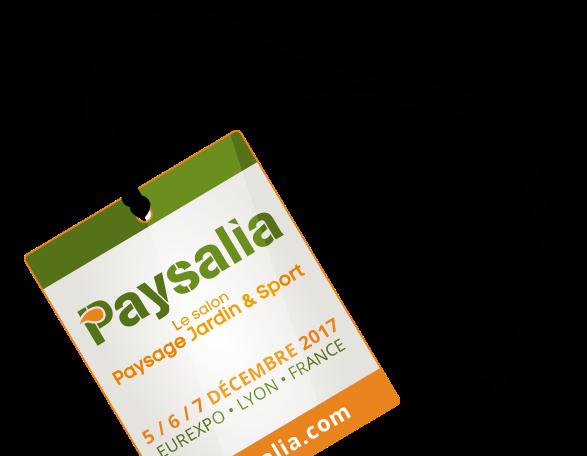 Le Salon Paysalia le 05-06/12/2017