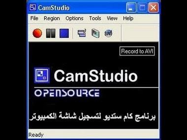 برنامج كام ستديو لتسجيل شاشة الكمبيوتر 2019
