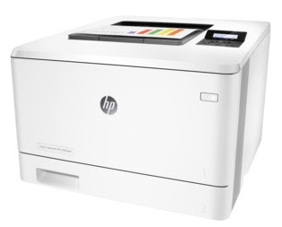 ane printer that is reliable for whatever concern purposes in addition to your business office HP LaserJet Pro 400 Color M452dn Printer Driver Download