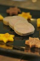 foie gras, cuisson sous vide , mi cuit , mangue , noel