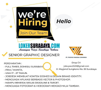 Info Lowongan Kerja Surabaya di PT. Prodigi Wasesa Cendekia Juli 2020