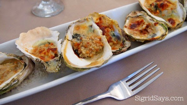 Bacolod restaurant - Italia Restaurant Bacolod - Italian cuisine - baked oysters