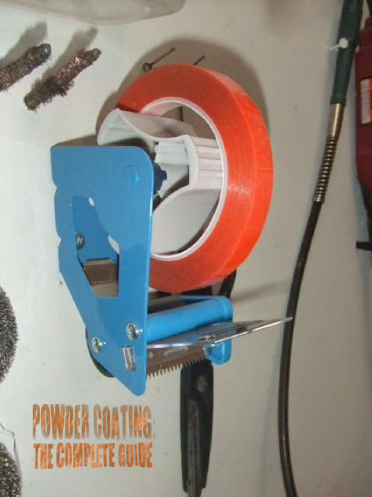 powder coating high temp tape dispenser how to