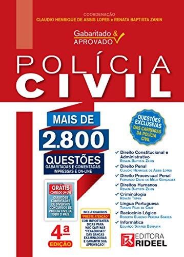 Gabaritado e Aprovado – Polícia Civil - Claudio Henrique de Assis Lopes