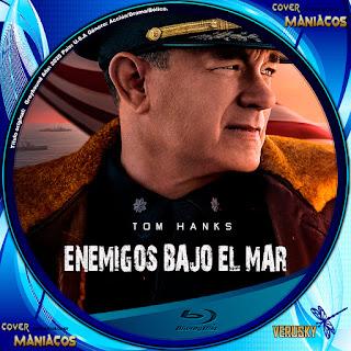 GALLETA ENEMIGOS BAJO EL MAR - EN LA MIRA DEL ENEMIGO - GREYHOUND 2020[COVER BLU-RAY]
