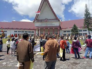 Aliansi Gerakan Rakyat Gelar Aksi Tutup PT. TPL Desak Bupati Cabut Izin Konsesi dari Humbahas