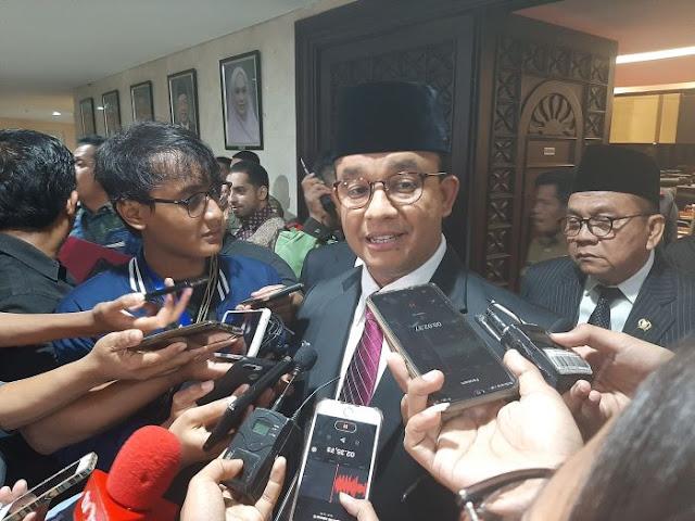 Anies Baswedan Sebut Kemiskinan di DKI Jakarta Menurun