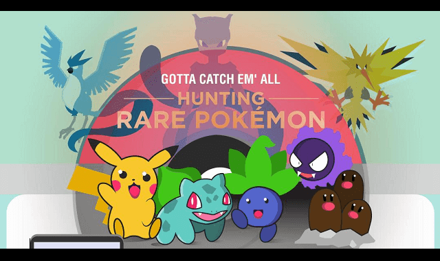 Hunting Rare Pokemon