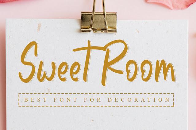 Sweet Room- Best Handwritten Font