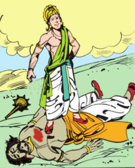 Pradyuma killed Shamvara