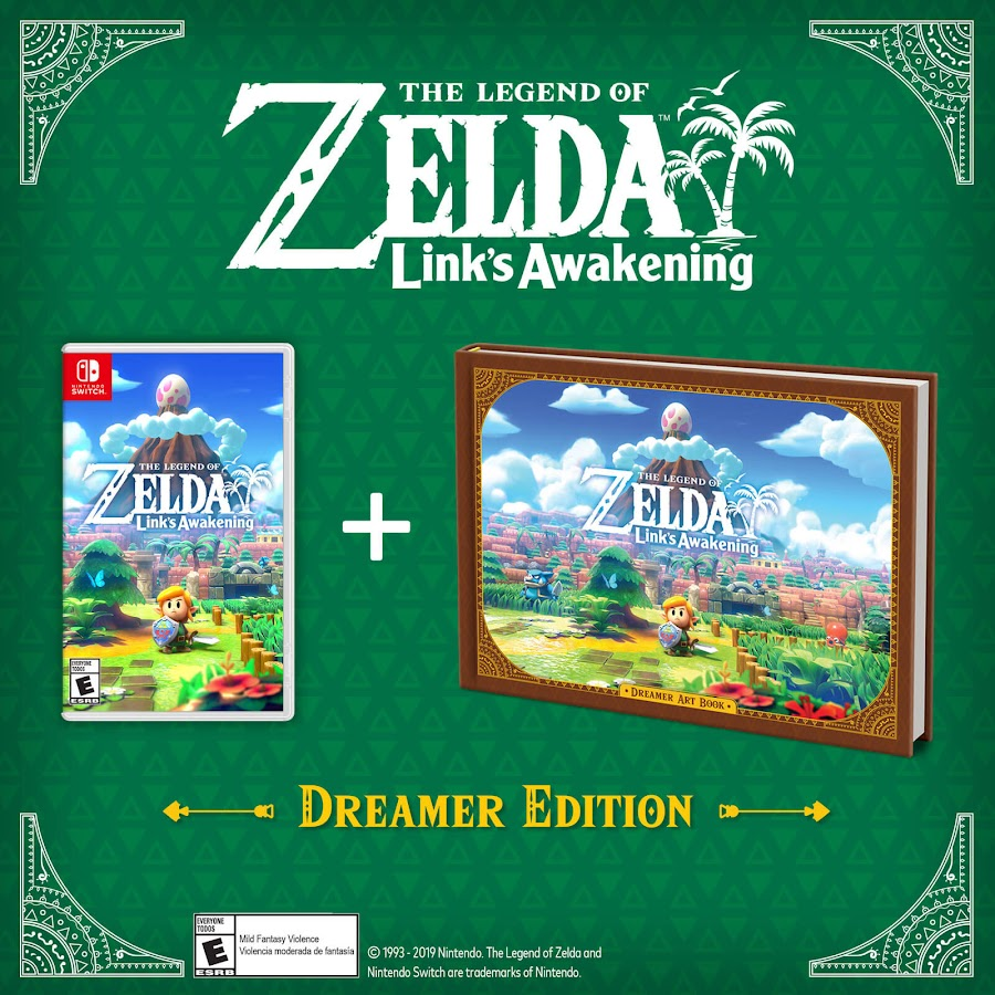 legend of zelda link's awakening dreamer edition nintendo switch