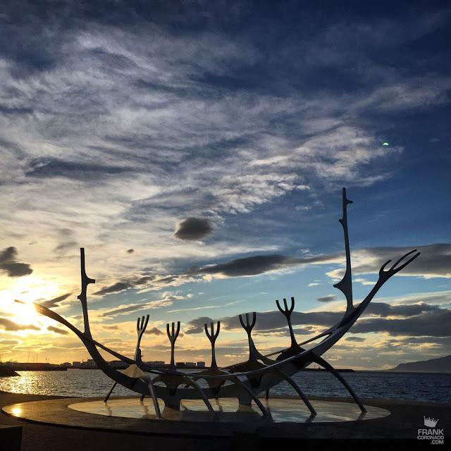 Sólfar en Reikiavik Islandia