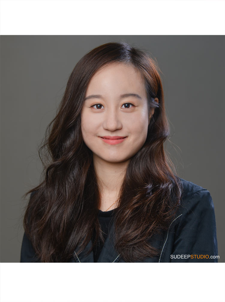 Professional Headshot for Asian University Student LinkedIn Graduate Study by SudeepStudio.com Ann Arbor Headshot Photographer