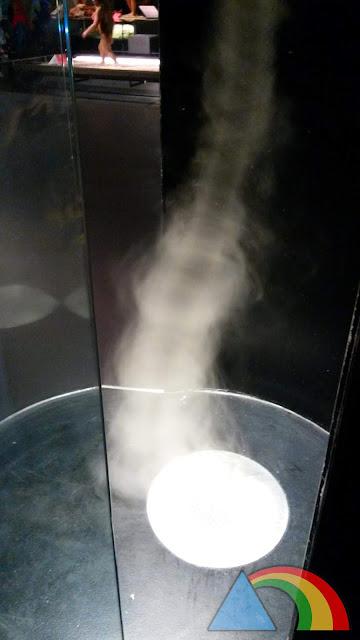 Tornado en la Sala Universo de CosmoCaixa Barcelona