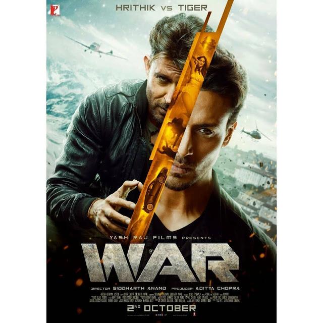 WAR (2019 Movie) Hrithik Roshan vs Tiger Shroff  Review