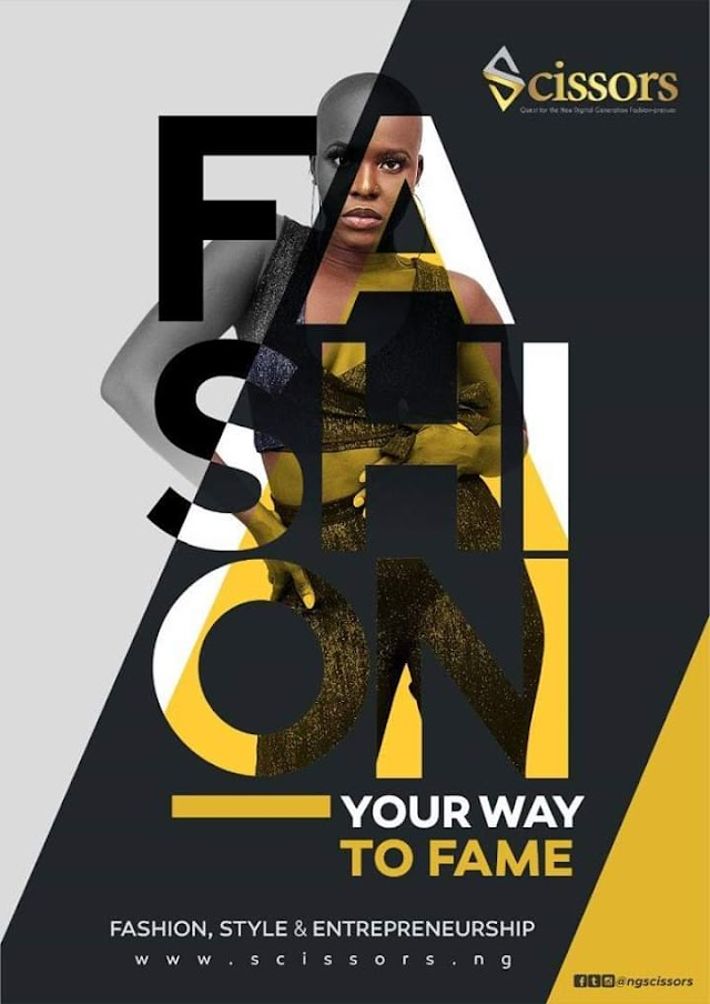 Scissor Reality Show Debut For Young Fashion Entrepreneurs in Nigeria