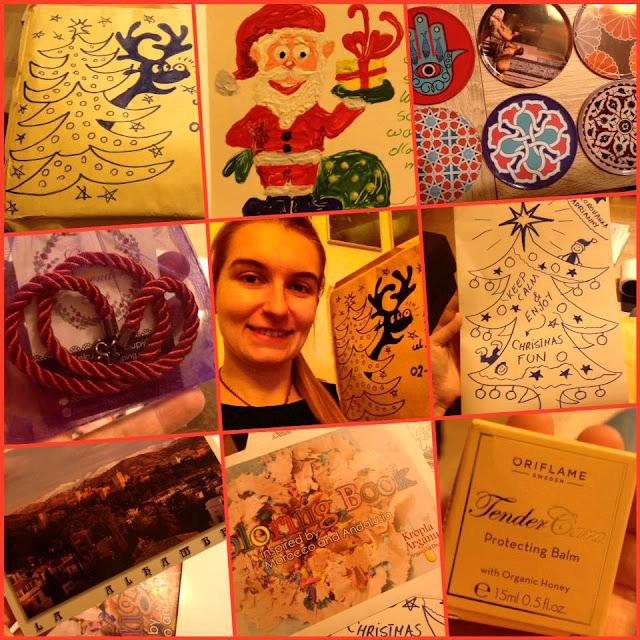 Adrianna z bloga 154 dni otrzymuje prezent mikołajkowy z Hiszpanii